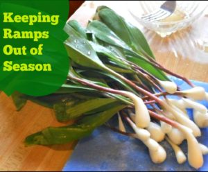 Keeping Ramps out of Season